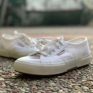 "Superga ""Cotu"" White 6.5 37 EU Sneakers"
